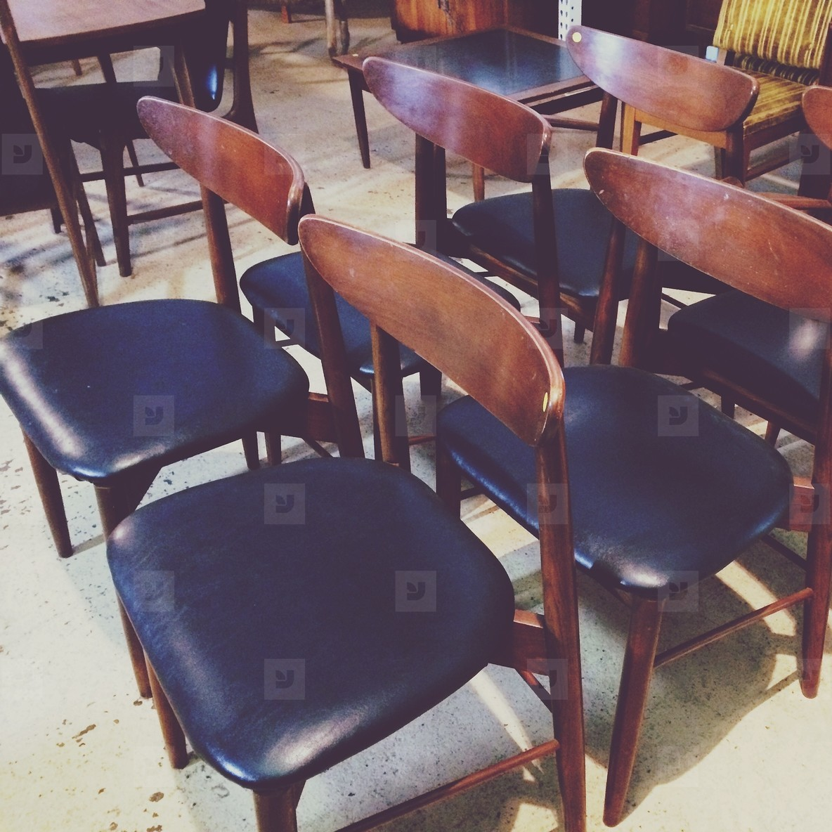 A full set of chairs