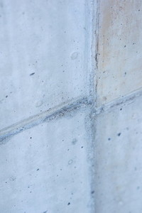 concrete wall five