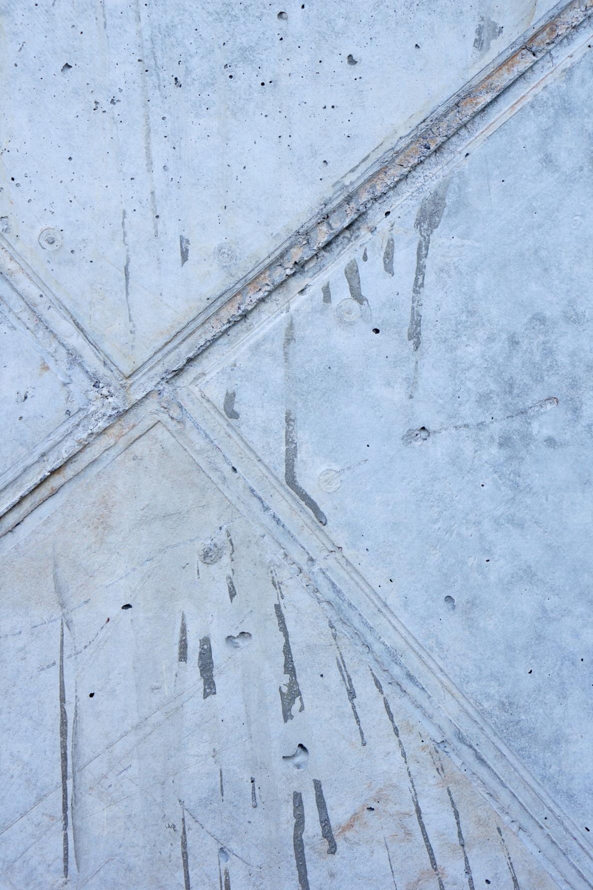 concrete wall three