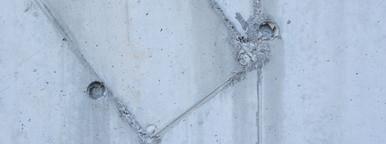 concrete wall two