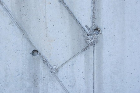 concrete wall two