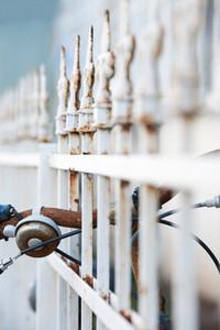 Rusty bike bell