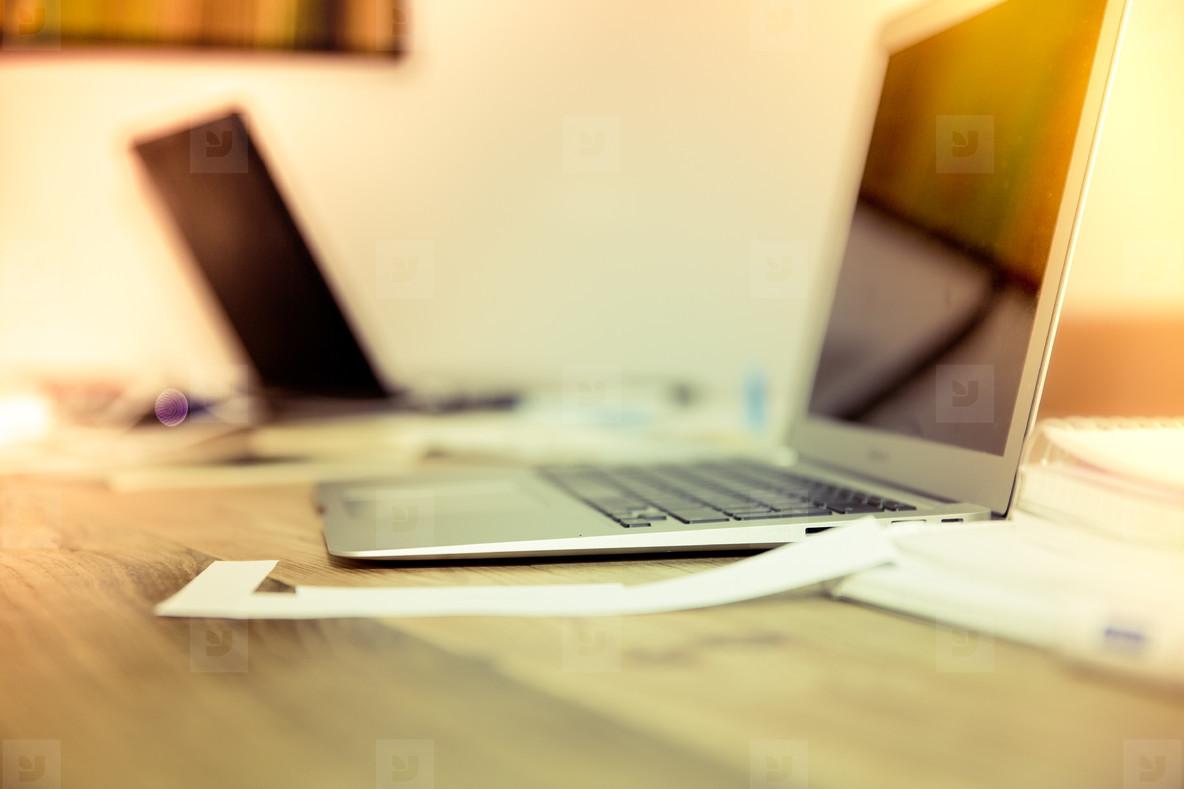 neourban hipster office desktop