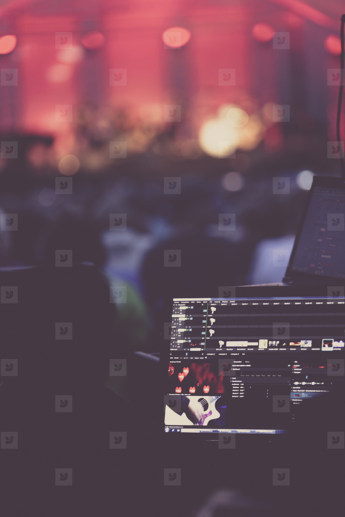 live von stage