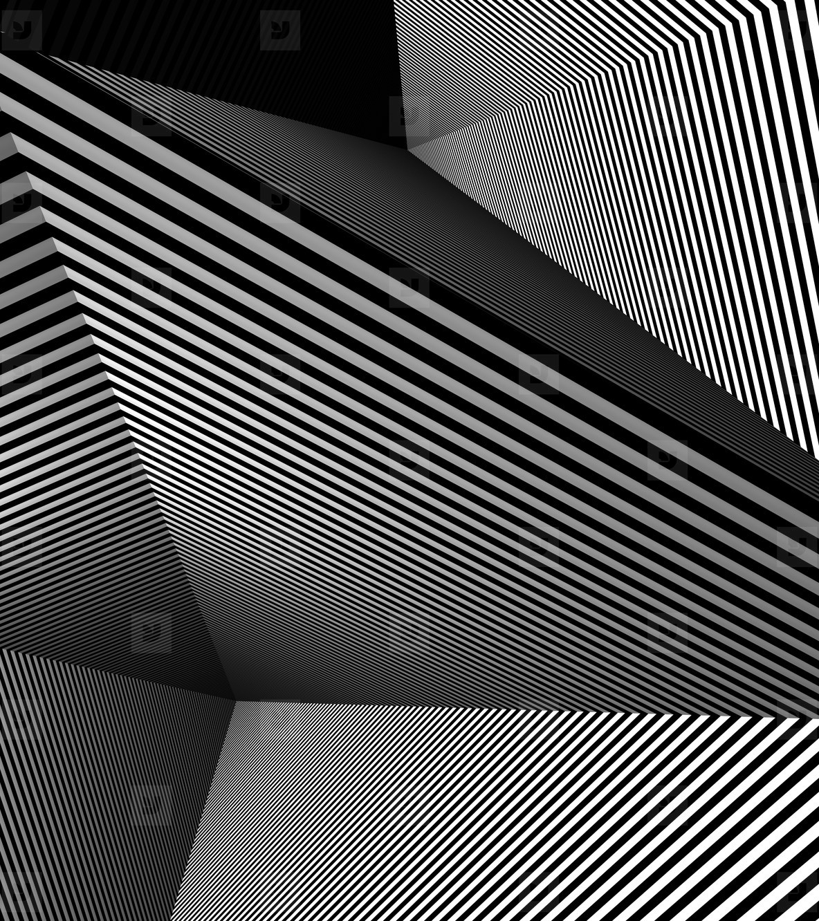geometric shapes and stripes  4