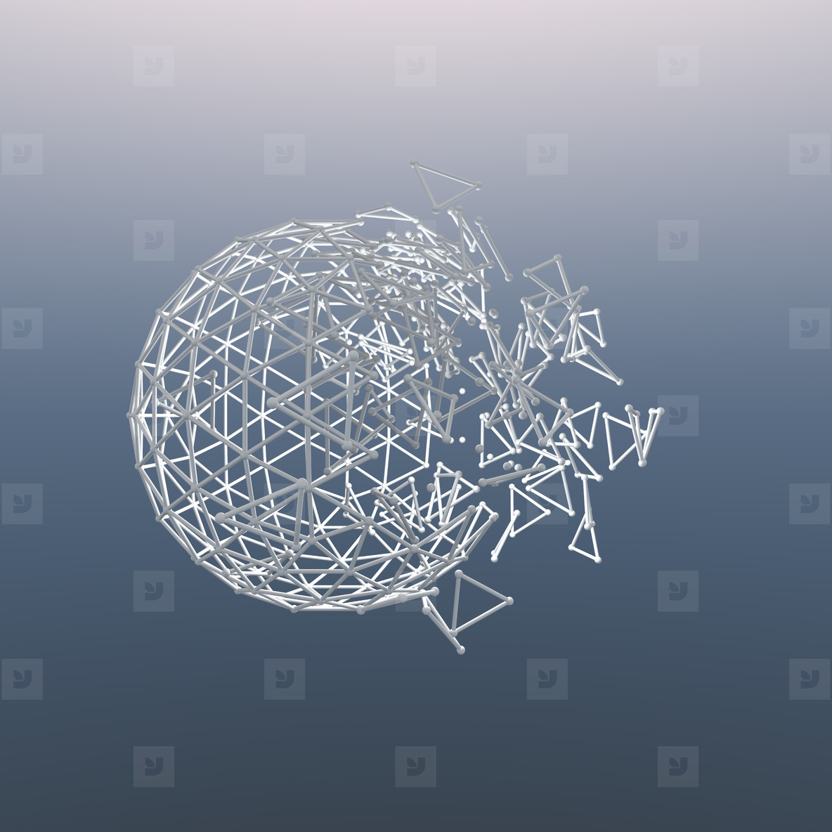 sphere explosion