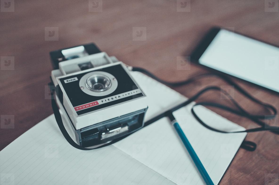Vintage Camera   iPad