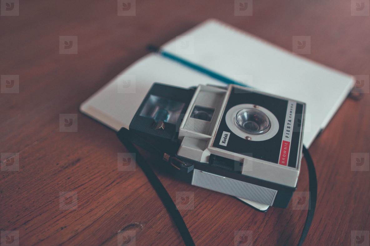 Vintage Camera   Sketchbook