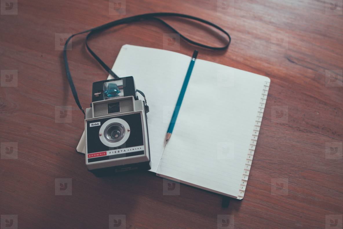 Vintage Camera   Sketchbook