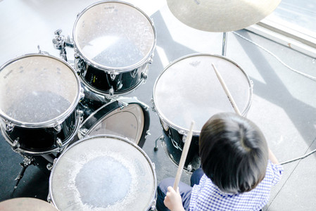 Child  Drums