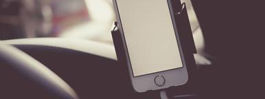 iPhone in Car