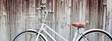 Old vintage bicycle