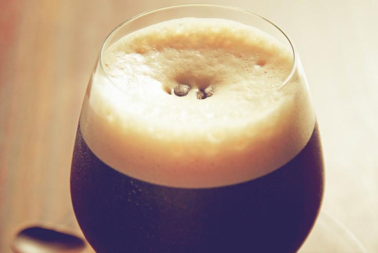 Black coffee  cold milk