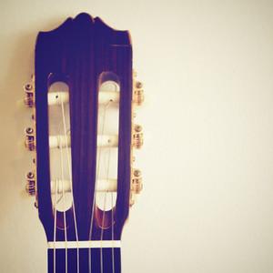 Classical guitar head