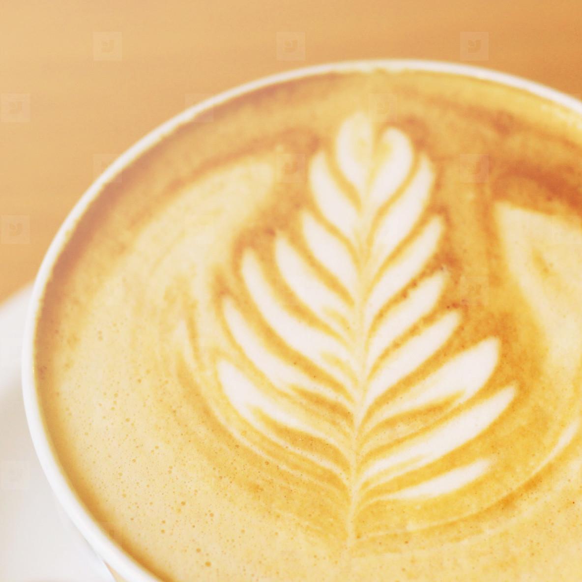 art latte or cappuccino