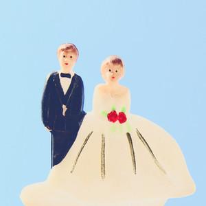 wedding couple doll