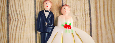 wedding bride and groom couple