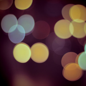 Bokeh light vintage