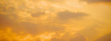 Dramatic sunset sunrise