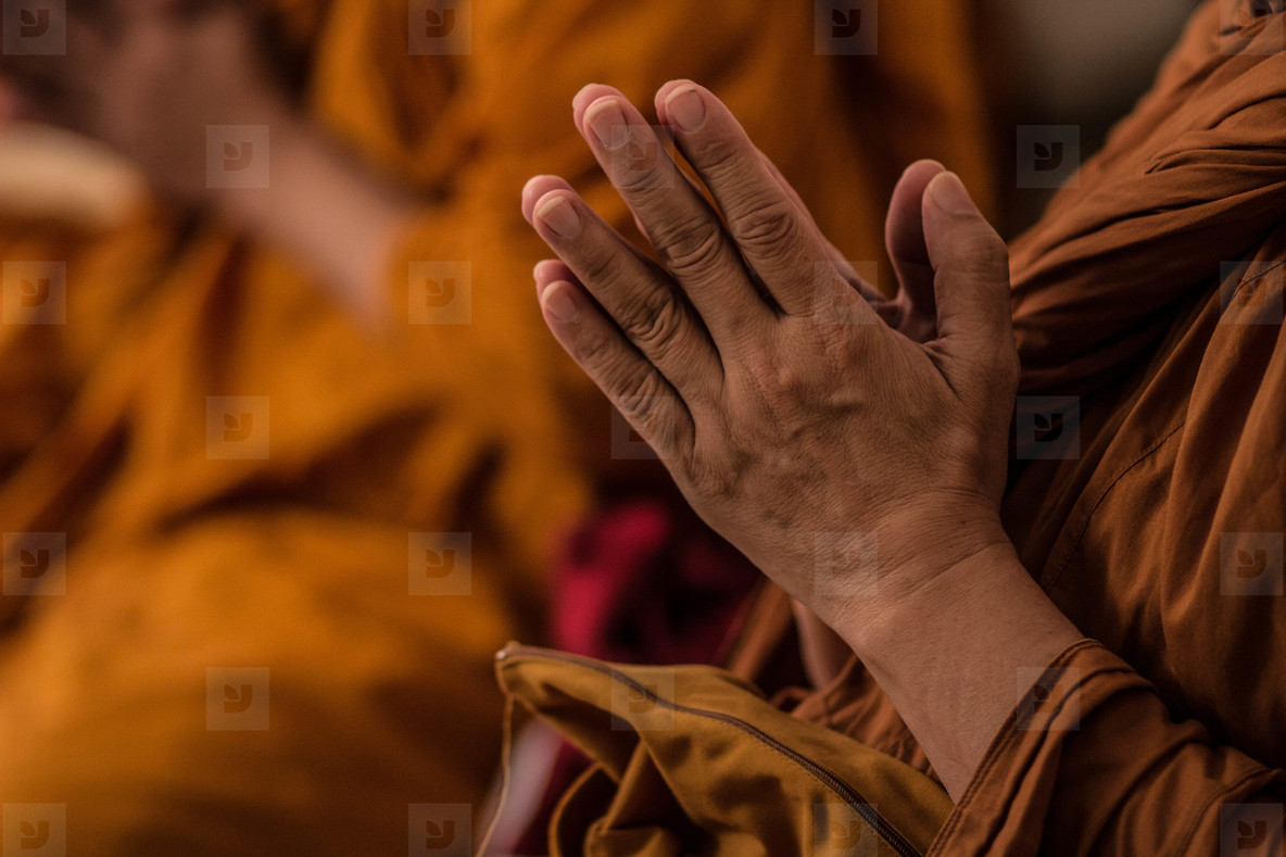 Monk Praying