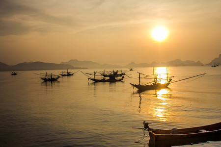 Sunset in Southern Thailand
