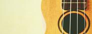 ukulele with copyspace