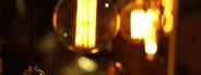 Lighting decor at night