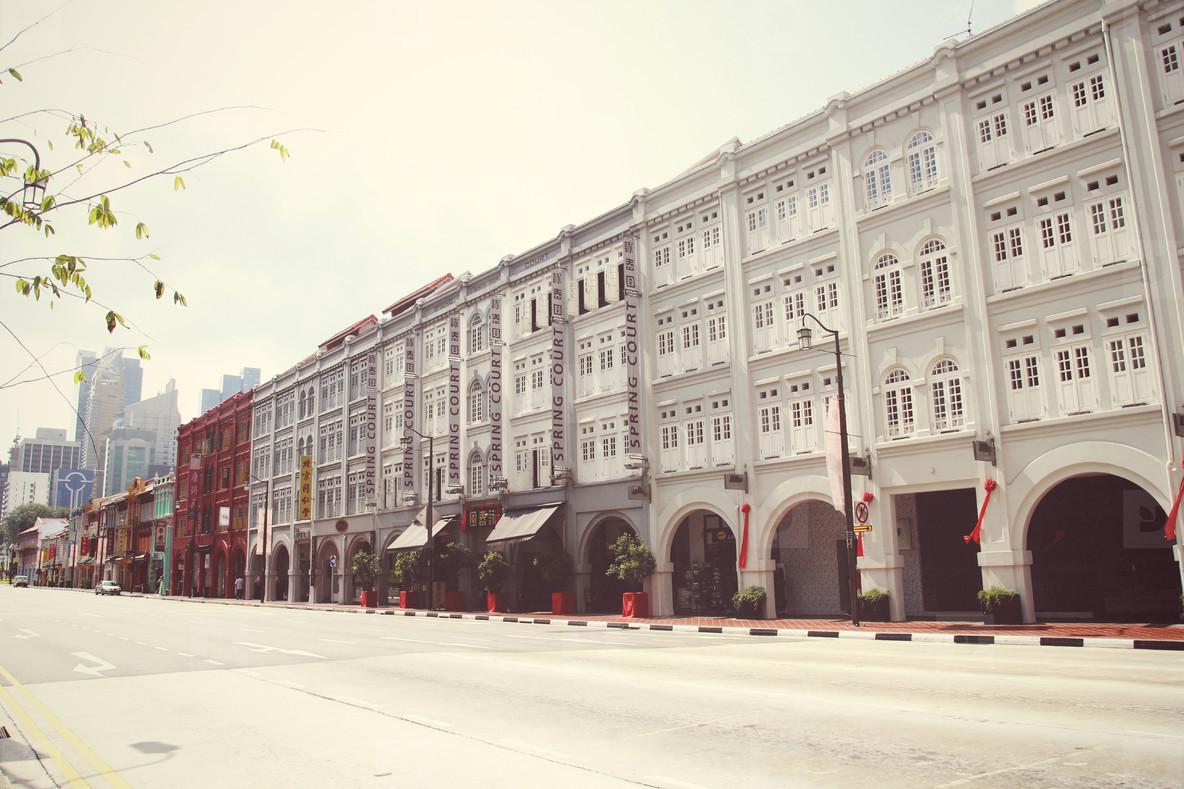 Singapore s Chinatown