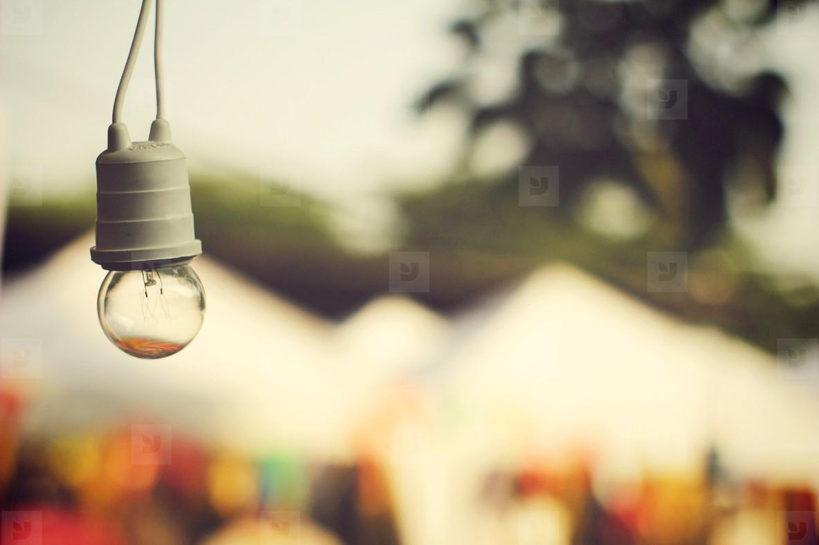 Lighting decor in carnival