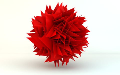 transforming sphere 1 red