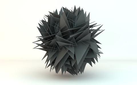 transforming sphere 2 grey