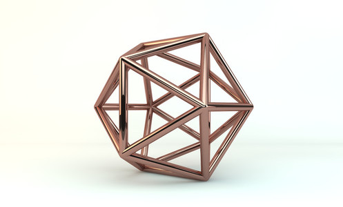 copper icosahedron