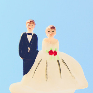 wedding couple doll