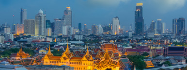 Bangkok at Twilight