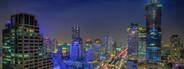 Asian City at Night