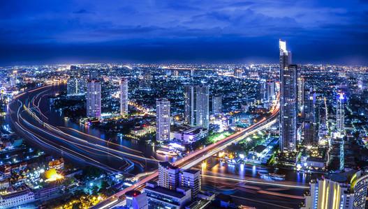 Bangkok at dusk