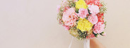Bouquet of flower in hand