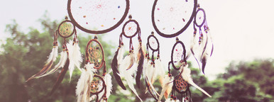 Traditional dreamcatcher
