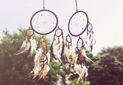 Traditional dreamcatcher