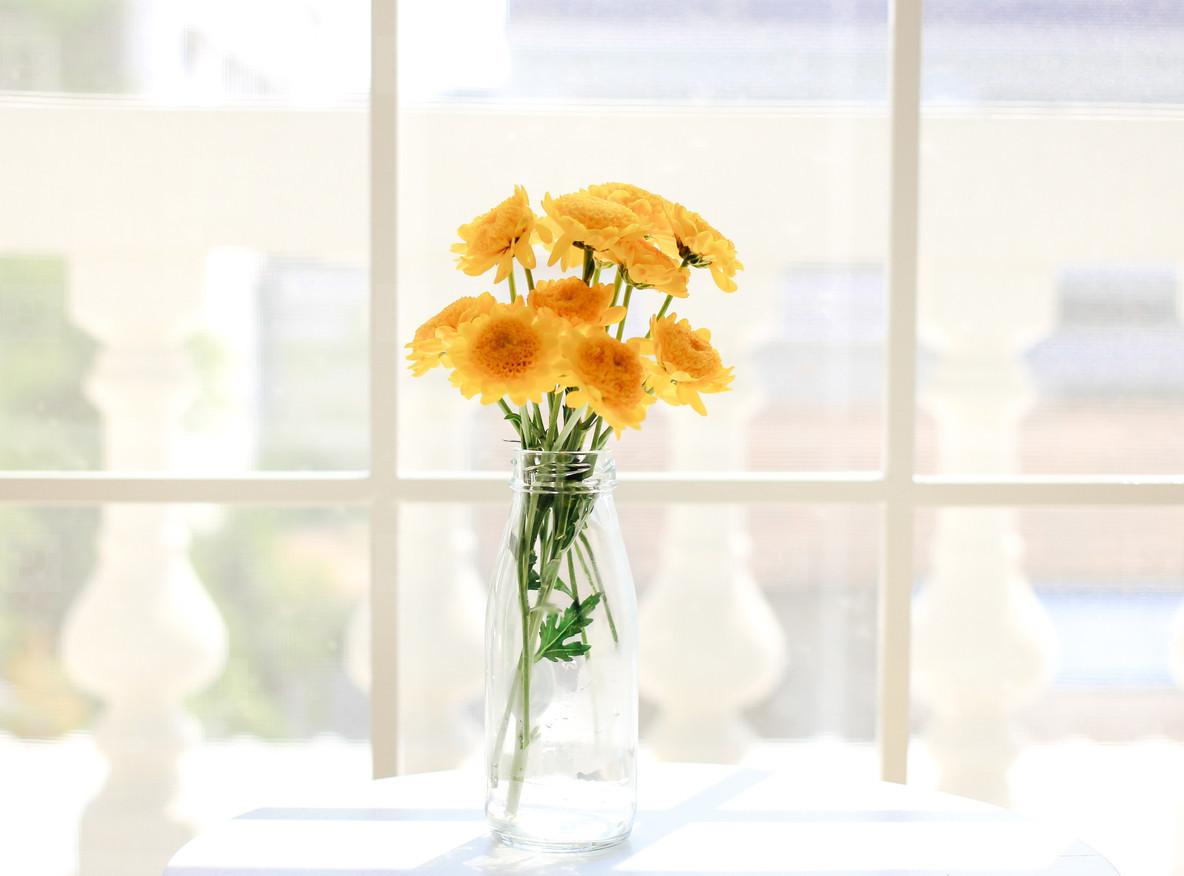 Flower arrangement for decorated
