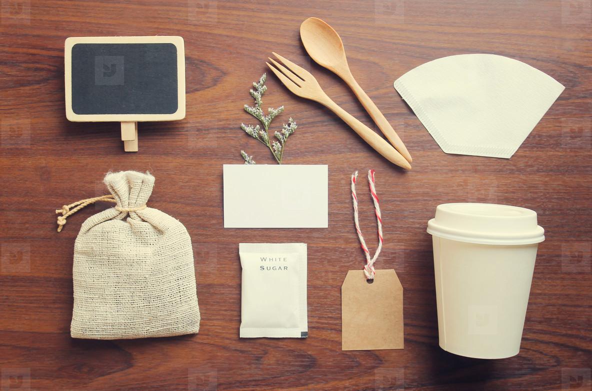 Coffee identity mockup set