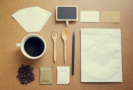 Coffee identity mockup set