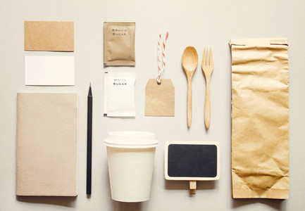 Coffee identity branding