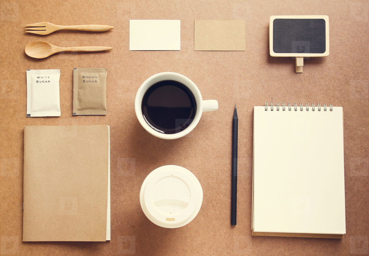 Business and coffee identity