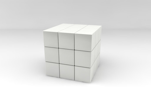 Magic Cube white