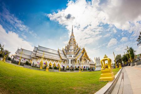 Thailand Temple  Wat Sothorn