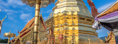 Golden Stupa on Doi Sutep