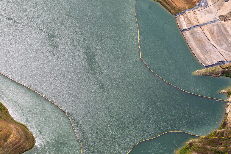 Aerial View Water