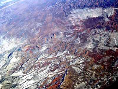 Aerial View Mountains