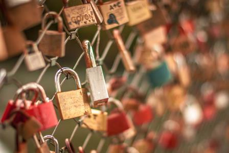 Vintage lock   romance